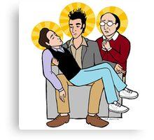 Seinfeld Pieta Canvas Print
