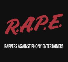 "R.A.P.E. -""Rappers Against Phony Entertainers"" - 3rd Bass by sinistergrynn"