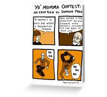 Yo Momma Contest Greeting Card