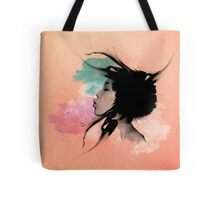 Psychedelic Blow Japanese Girl Tote Bag