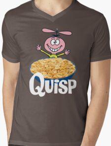 Quisp Mens V-Neck T-Shirt