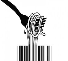 Noodle barcode by FunShop