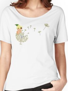 Resting on a dandelion Women's Relaxed Fit T-Shirt