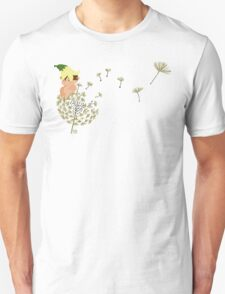 Resting on a dandelion Unisex T-Shirt