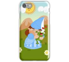 kissing the enchanted frog iPhone Case/Skin