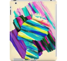 Africa Dream Woman Peace Rainbow Collage iPad Case/Skin