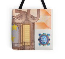 Fifty Euro Note Tote Bag