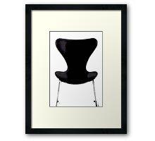 series 7 chair... a modern icon Framed Print