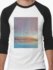 Pastel Sunrise - Gold Coast Qld Australia Men's Baseball ¾ T-Shirt