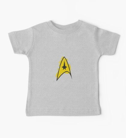 Star Trek brushed logo Baby Tee