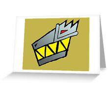 Dino Charge/Kyoryuger Symbol Greeting Card