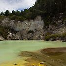 The Colours Of Rotorua by Luke and Katie Thurlby