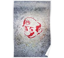 Super Mario Bros Urban Hip Hop Wall Tag Poster