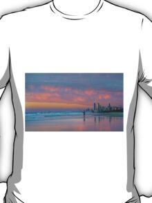 Catching the Sunrise too - Gold Coast Qld Australia T-Shirt