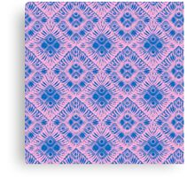 Graphic Shell Pattern Purple Canvas Print
