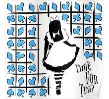 Time For Tea - Alice Poster
