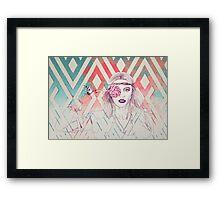 Lollipop Girl Framed Print