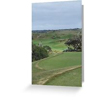 The National - Moonah - 4th Hole Greeting Card