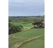 The National - Moonah - 4th Hole Photographic Print