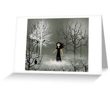Sleep Walking Greeting Card