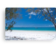 Whitehaven Beach 2.0 Canvas Print
