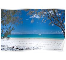 Whitehaven Beach 2.0 Poster
