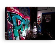 Urban art Sydney Canvas Print
