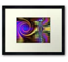 Beyond Belief 2 ( glass squares) Framed Print