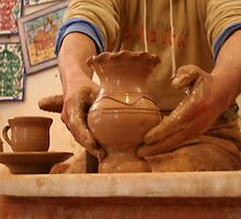 The Hands of the Potter by Laurel Talabere