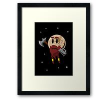 Pluto, the Dwarf Planet Framed Print