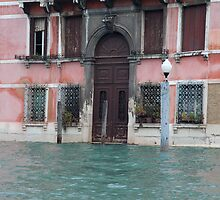 Watery entrance- Venice by Nathan Seiler