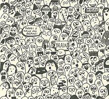Doodle Monsters by Doodlesofmine