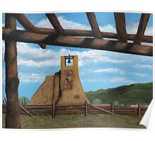 Taos Pueblo Church Ruins Poster