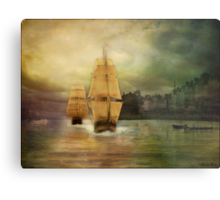 Race to the finish line... Metal Print