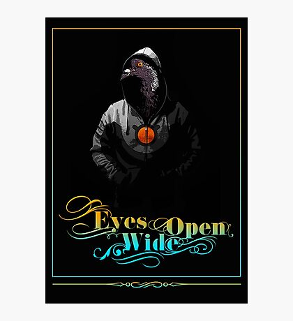 Eyes Wide Open Photographic Print