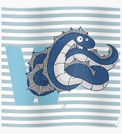 w for wyrm Poster