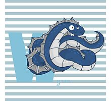 w for wyrm Photographic Print