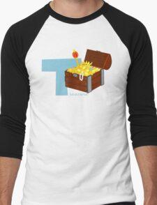 t for treasure Men's Baseball ¾ T-Shirt