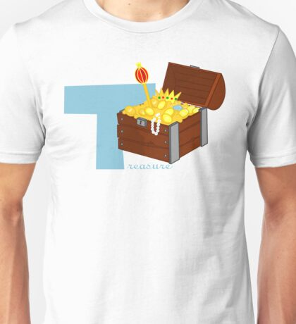 t for treasure Unisex T-Shirt