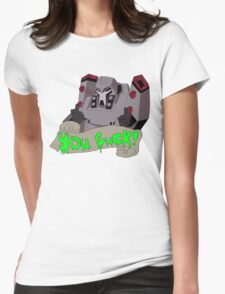 Megatron - you suck Womens Fitted T-Shirt
