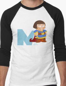 n for noble Men's Baseball ¾ T-Shirt