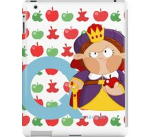 q for queen iPad Case/Skin