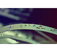 Colours of the Rain Photographic Print