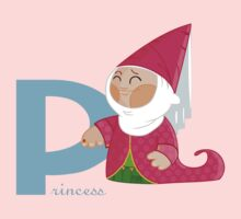 p for princess Kids Tee