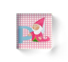 p for princess Acrylic Block