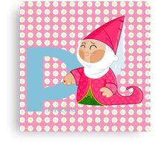 p for princess Canvas Print
