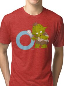 o for orc Tri-blend T-Shirt