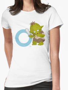 o for orc Womens Fitted T-Shirt