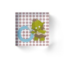 o for orc Acrylic Block