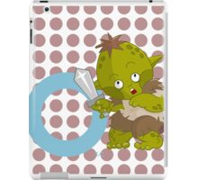 o for orc iPad Case/Skin